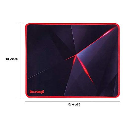 Redragon Mouse Pad with Edges, Mouse Base Mousepad for Computer