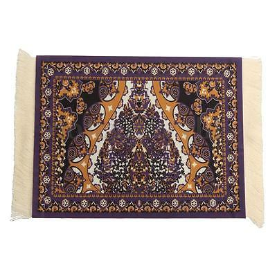 Persian Style Mouse Pad Carpet Mousemat Gift White 23X18cm