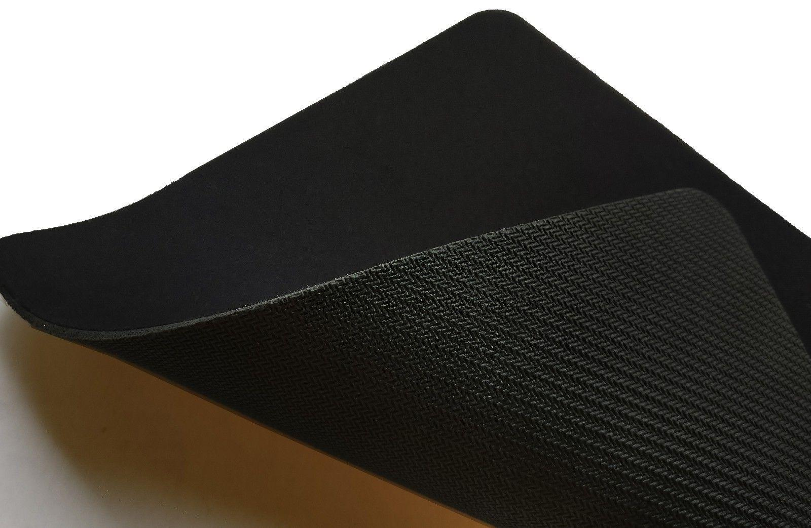Plain Black Lot 2 Quality 22 x 18cm Blank Mouse Pads