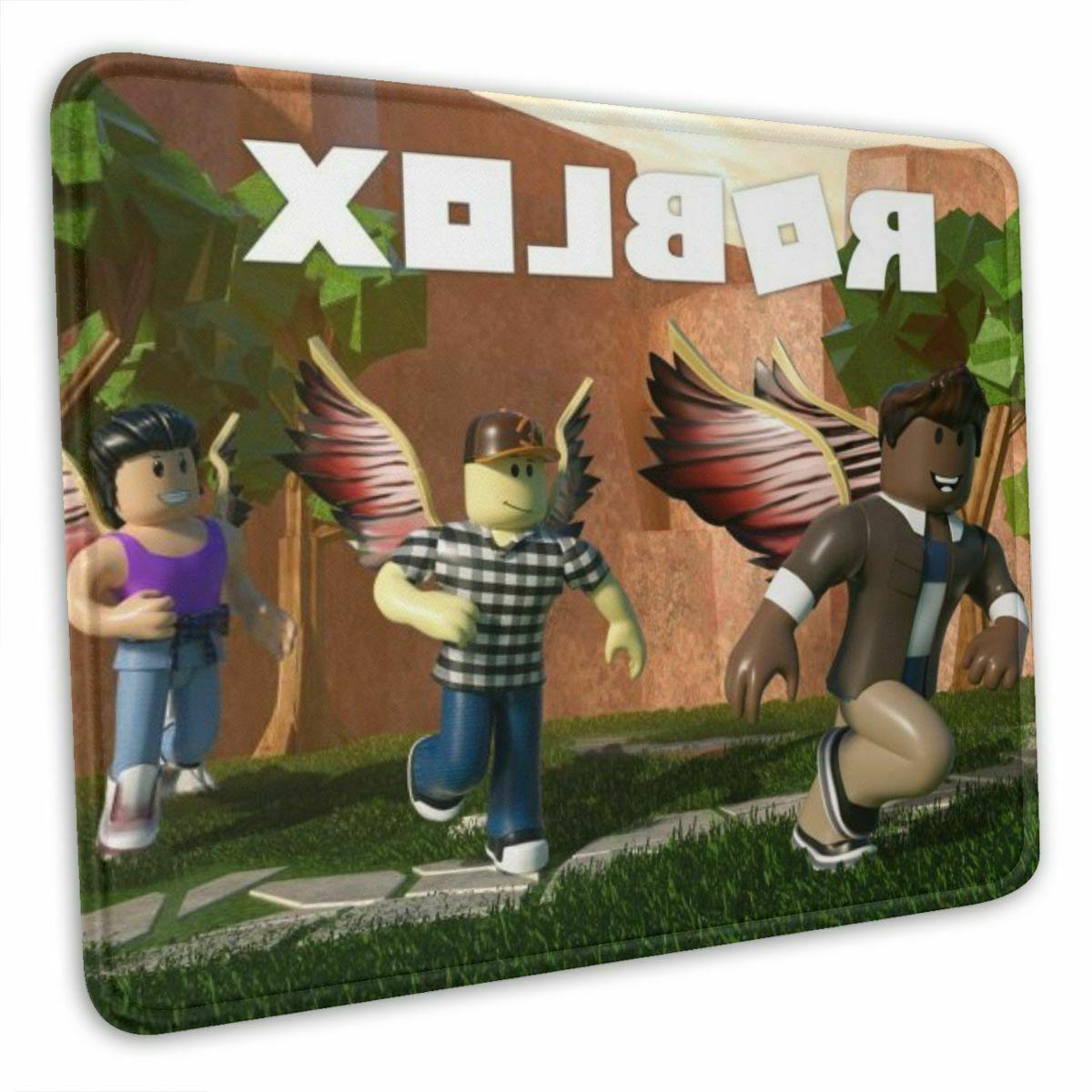 Roblox Game Mouse Pad Thick Rubber Computer Mat 10 x