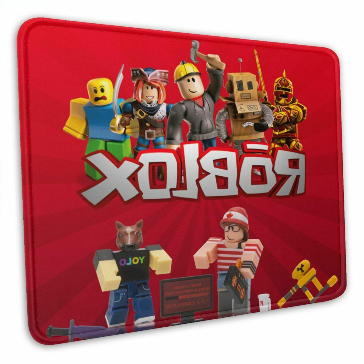 Roblox Game Non-slip Pad Thick Rubber Laptop Computer Mat 10 x 12