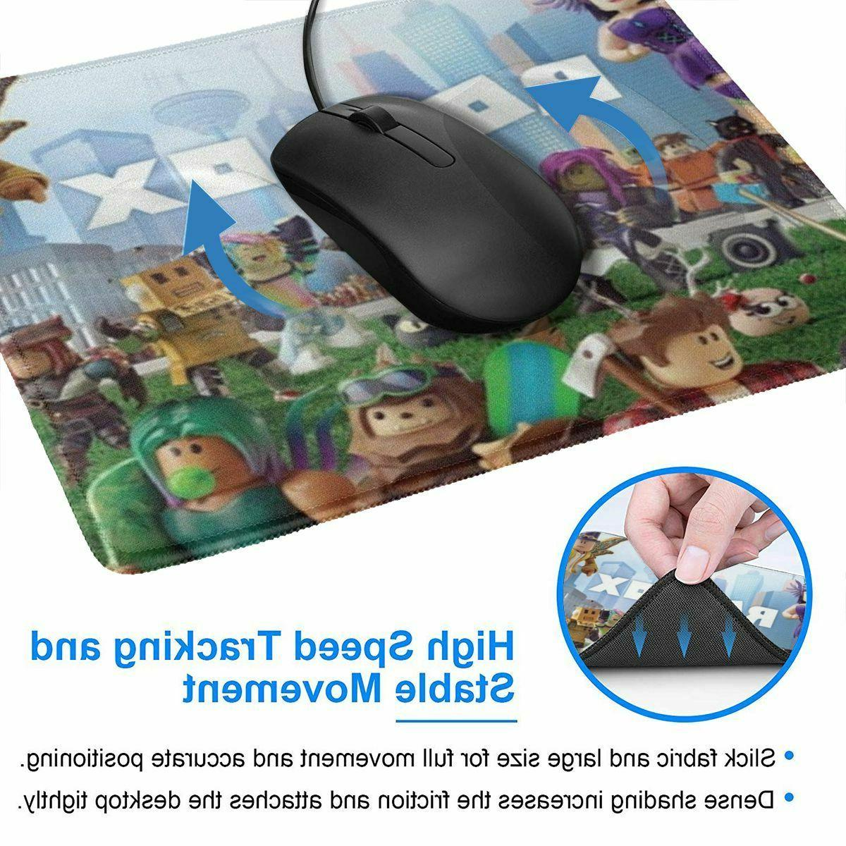 Roblox Game Non-slip Mouse Pad Thick Computer Mat x