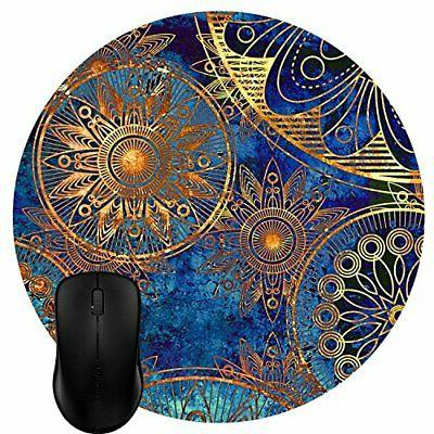 round mouse pad customized design abstract vintage