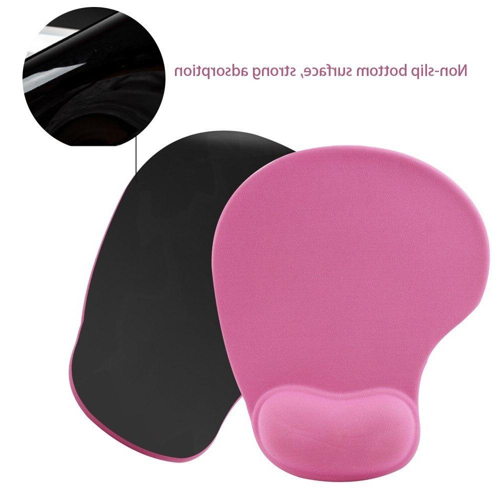 Simple <font><b>Plain</b></font> Mat Support Rubber Gaming <font><b>Mouse</b></font> For PC