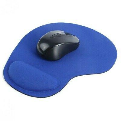 Soft Mouse Rest Wrist Comfort Mice Mat Gaming PC Computer