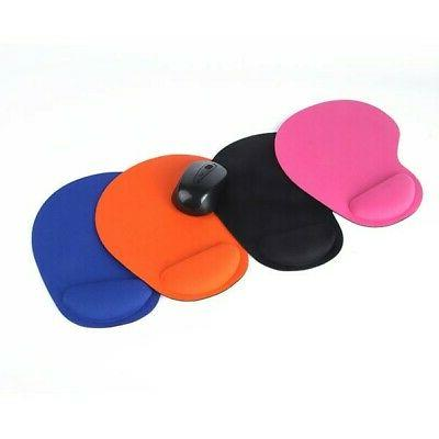 Soft Gel Pad Rest Support Mice Mat PC Computer