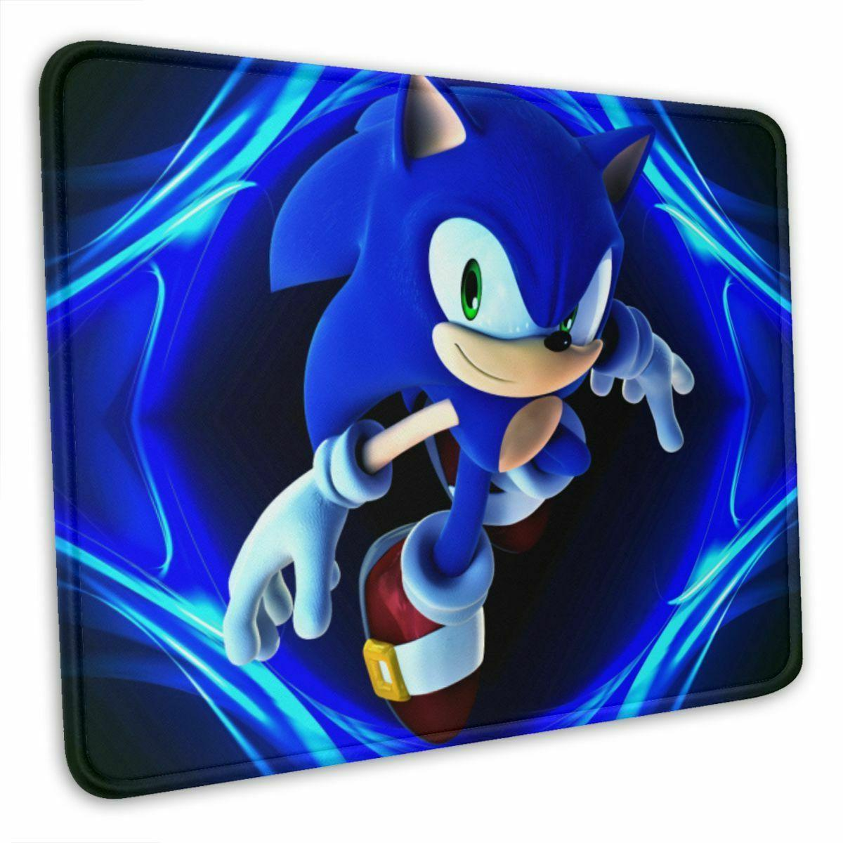 sonic the hedgehog mouse pad thick rubber
