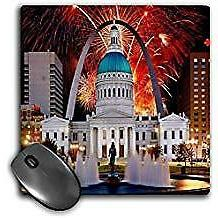 3dRose St Louis Missouri 4Th of July Mouse Pad