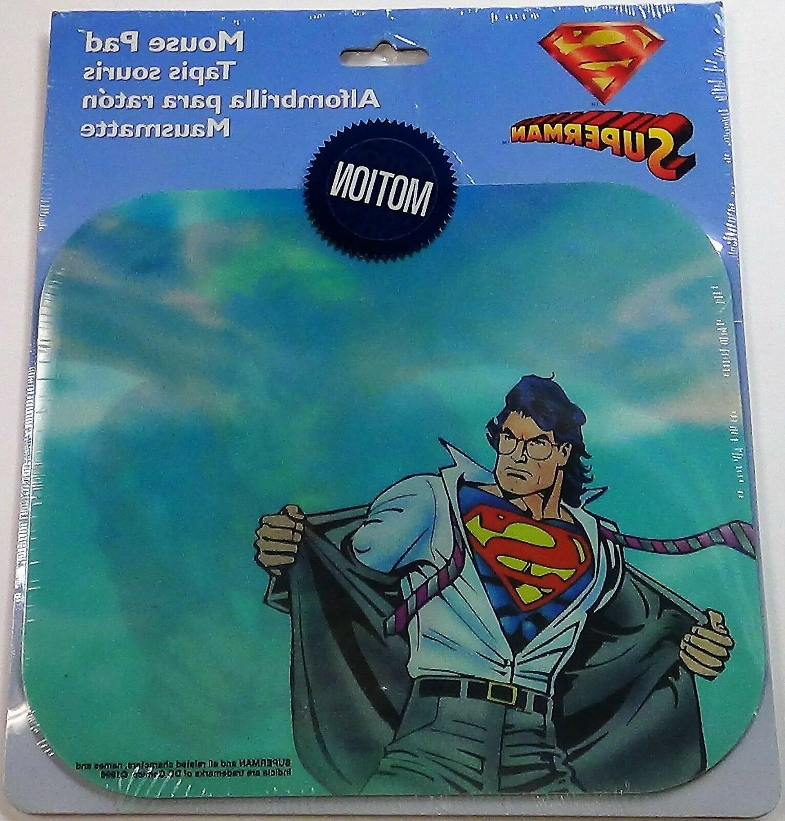 SUPERMAN Mouse Motion Fellowes NEW
