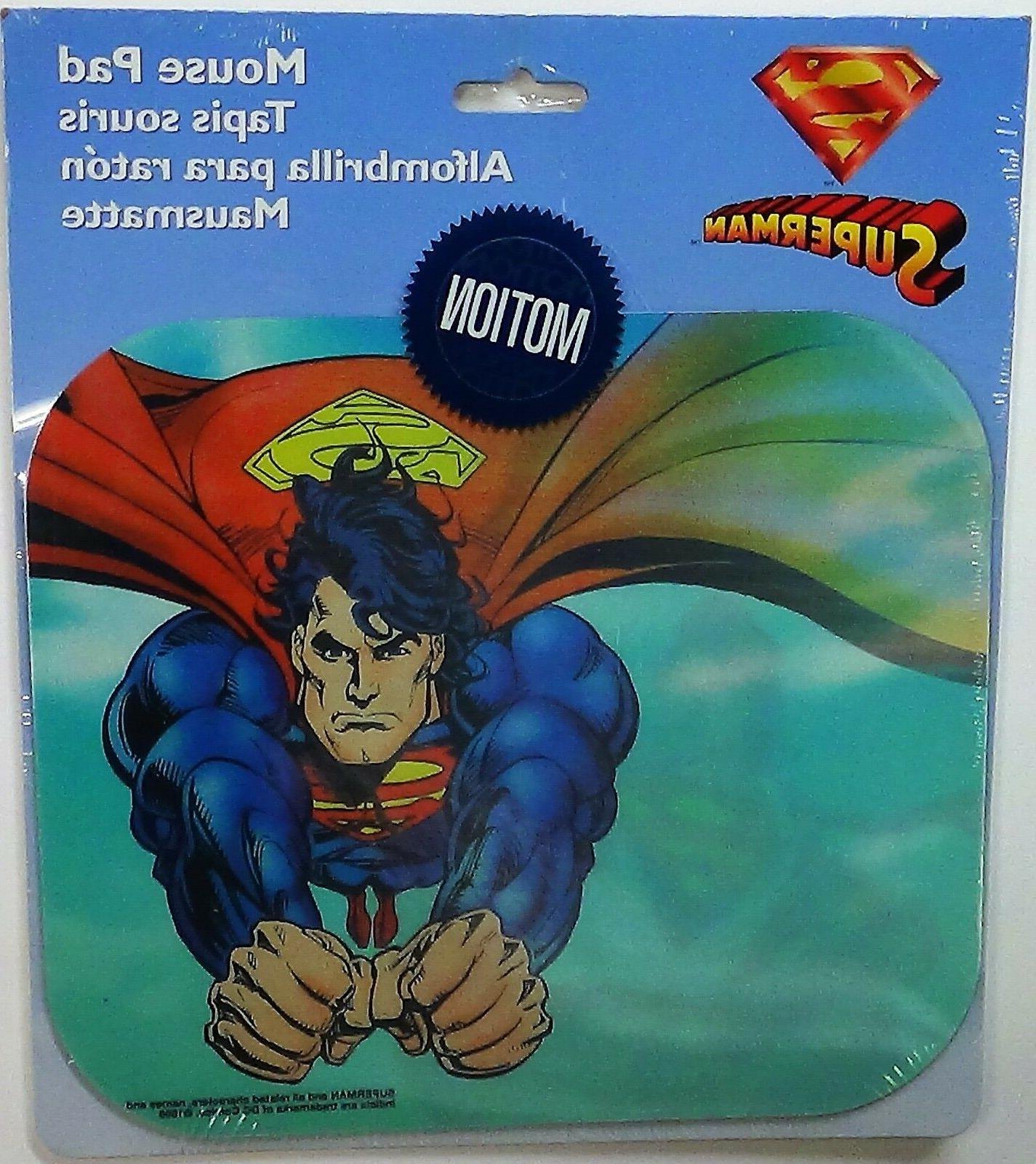 superman mouse pad lenticular motion by 1996