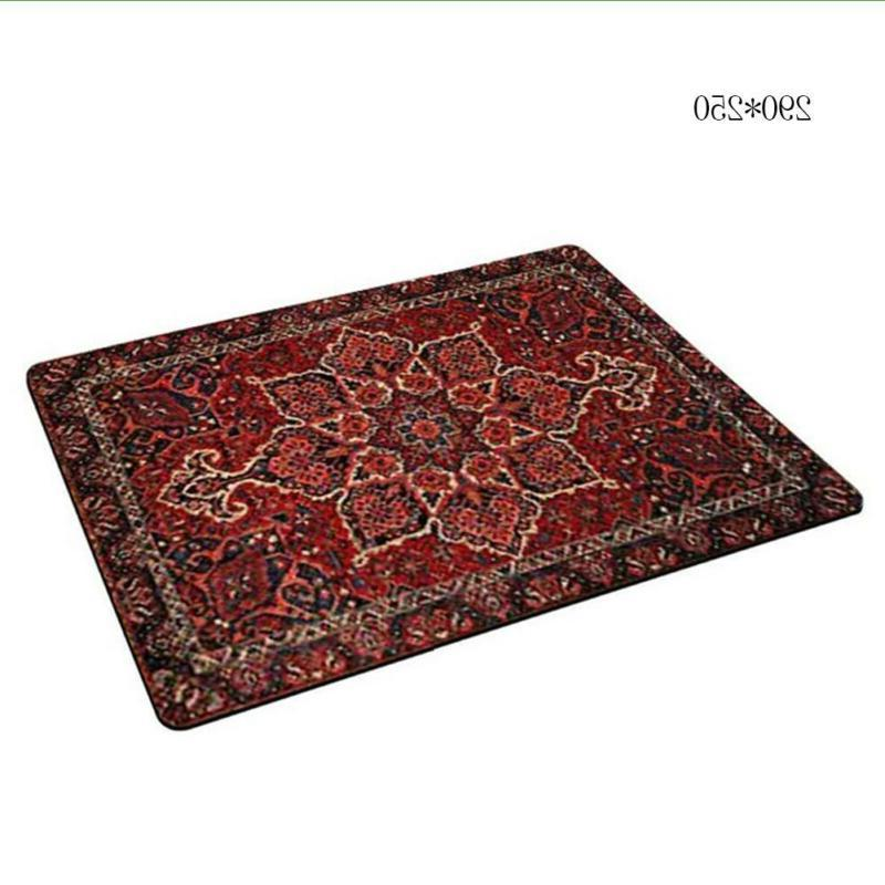 Vintage Carpet Rug Printing Mousepad Mouse