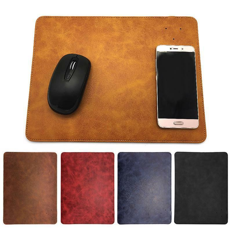 Wireless Mouse Pad Charger Qi Charging For iPhone X 8 Plus S
