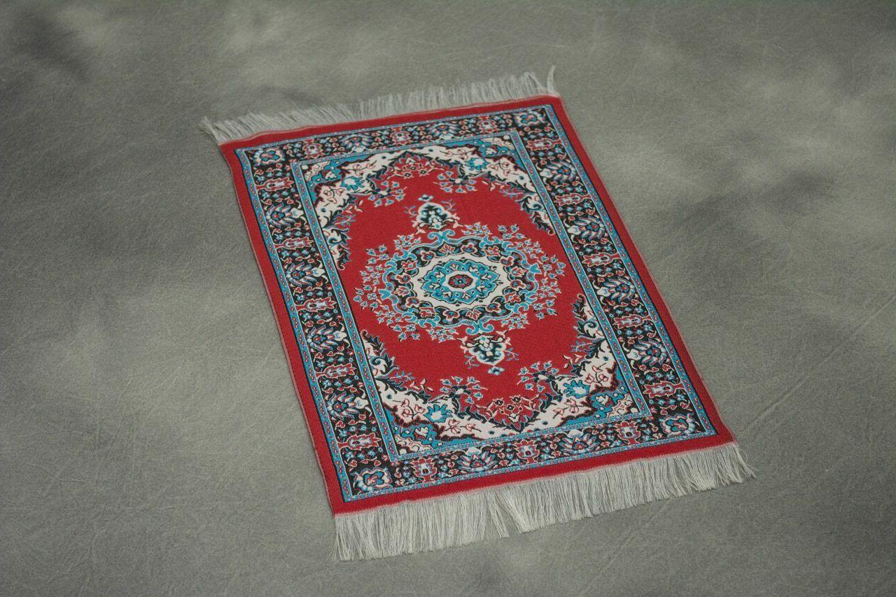 woven persian rug mouse pad