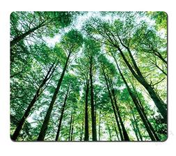 Landscapes Green Forest Trees Mouse pad,Forest trees nature
