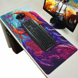 Large Gaming Mouse Pad Mat Laptop Computer Keyboard Non-Slip