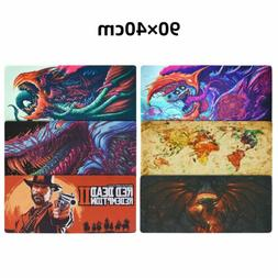 Large XXL Speed Gaming Mouse Pad Desk Mat Anti-Slip Laptop K