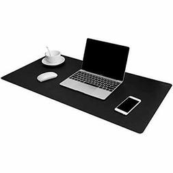 """Leather Desk Pads & Blotters Protector 32""""x16"""" Gaming Mouse"""