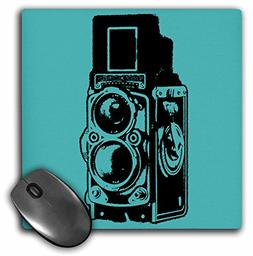 3dRose LLC 8 x 8 x 0.25 Inches Mouse Pad, Picture of a Vinta