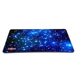 "AUPET Nice Starry Sky Large Gaming Mouse Pad Mat 13.78"" X 9."