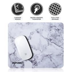 Insten Marble Mouse Pad, Premium Super Smooth Stylish Marble