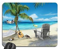 MARGARITAVILLE Mouse Pad, Mousepad  by Rock Bull