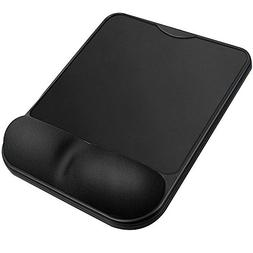 Security Memory Foam Non Slip Mouse Pad Wrist Rest , Ergonom