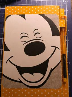 Mickey Mouse Love School Supply Notebook Note Pad Jr Legal N
