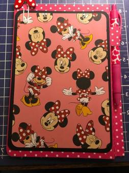 Mini Mouse Love School Supply Notebook Note Pad Jr Legal Not