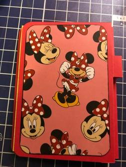 Mini Mouse Love School Supply Notebook Note Pad Mini Note Pa