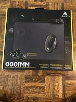 Corsair - MM1000 Qi Wireless Charging Mouse Pad