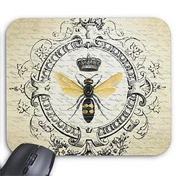 Modern Vintage French Queen bee Mouse pad 11.8×9.8 inches G
