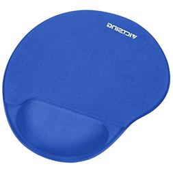 VicTsing Mouse Pad with Gel Wrist Rest, Mousepad with Non-Sl