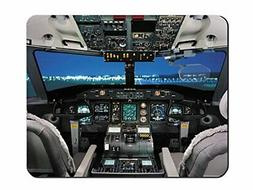 Mouse Pad Airplane Cockpit / Aircraft Cockpit Cloth Cover
