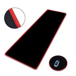 ELUTENG XXL Mouse Pad 800 x 400mm Large Black Oversized Mous