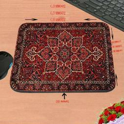 Mouse Pad Carpet Mat Rug Retro Style Gaming Mini Woven Patte