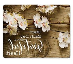 Wknoon Mouse Pad Christian Bible Verse Scripture Inspiration
