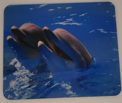 """Mouse Pad Dolphins Design 7.75"""" x 9.25"""" x 1/4"""" with Non-Slip"""