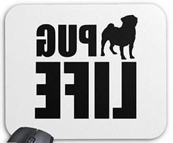 Mouse Pad PUG LIFE Mousepad Computer Accessories Gaming Mous