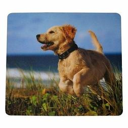 Fellowes 5pc Lot Mouse Pad  9-Inches x 8-Inches  Puppy Golde