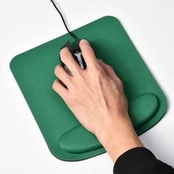 Mouse Pad Silicone Gel With Wrist Rest Support Mat PC Laptop