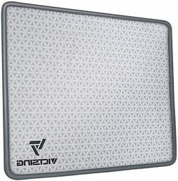 Mouse Pad with Stitched Edge, Premium-Textured Mouse Mat Gre