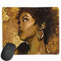 Liliynice Mouse Pads for Computers,African American Women Ar