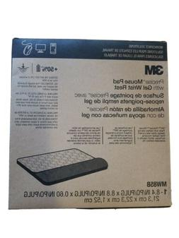 3M MW85B Precise Mouse Pad With Gel Wrist Rest