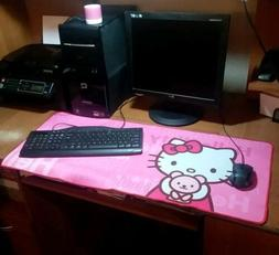 new hello kitty long giant gaming mouse