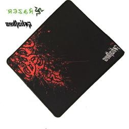 New non slip Smooth Mouse Pad Rubber and Smooth Fabric gamin