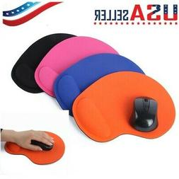 New Soft Gel Mouse Pad Rest Wrist Comfort Support Mice Mat G