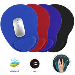 Non-Slip Mouse Pad Gel With Wrist Rest Support Mat PC Laptop