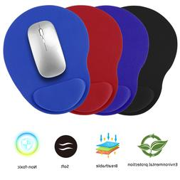 Non-Slip Mouse Pad Silicone With Wrist Rest Support Mat PC L