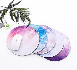 Non Slip Round Galaxy Mouse Pad Mice Mat For Laptop Notebook