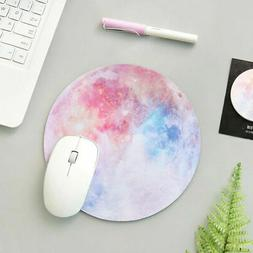 Non Slip Round Mouse Pad Mice Mat For Laptop Notebook Comput